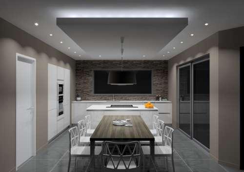 Illuminazione cucina lean wire - Illuminazione cucina moderna ...